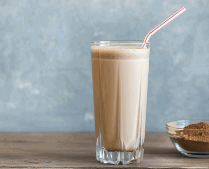 Shake mochaccino muso