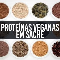 Proteínas Veganas em Sachê