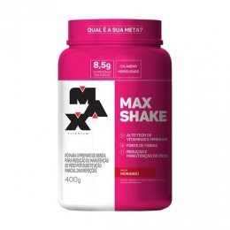 Max Shake Morango