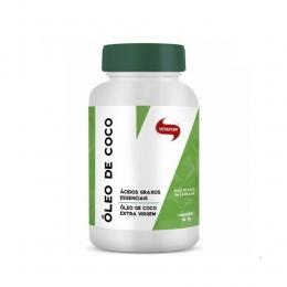Óleo de Coco Extravirgem - 60 Cápsulas 1g - Vitafor