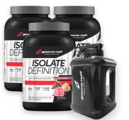 Whey Isolate 3 unidades + Brinde